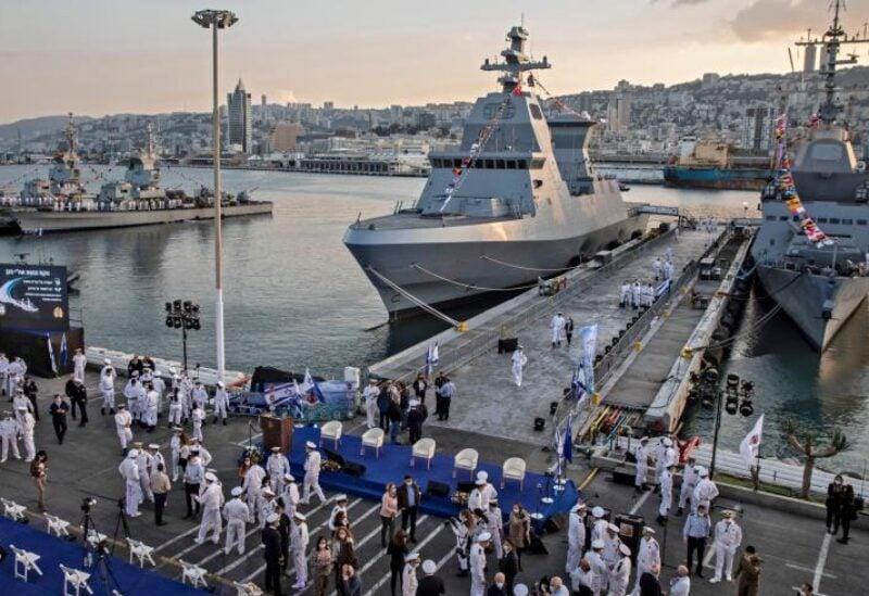 Israeli warship , Archive