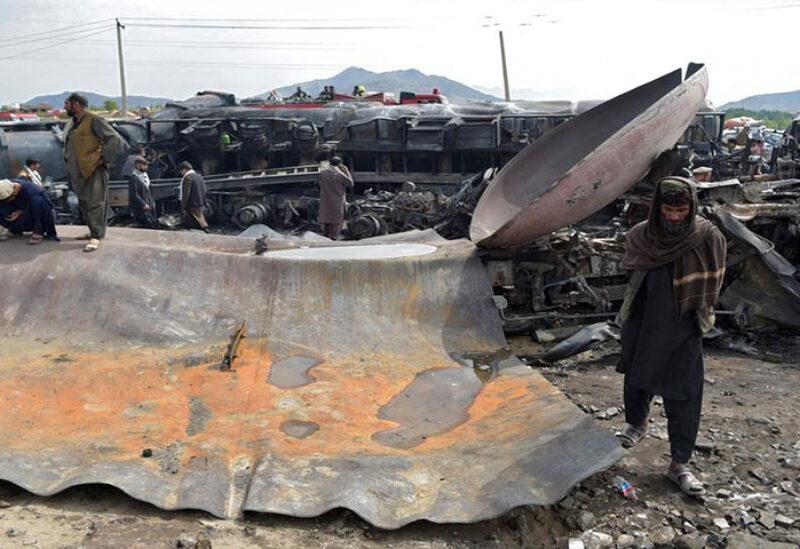 Kabul's fire