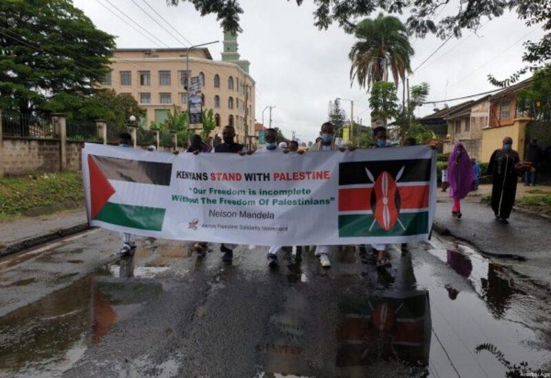 Kenya , pro palestinian protest
