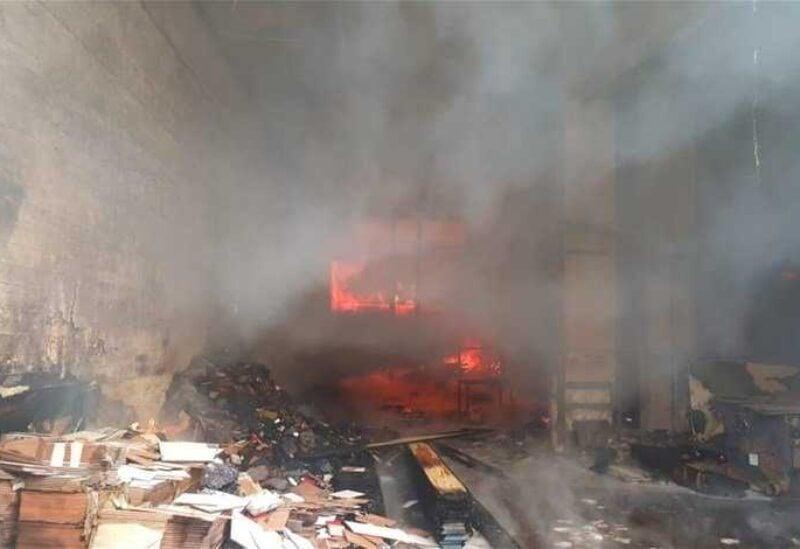 Khaldeh fire