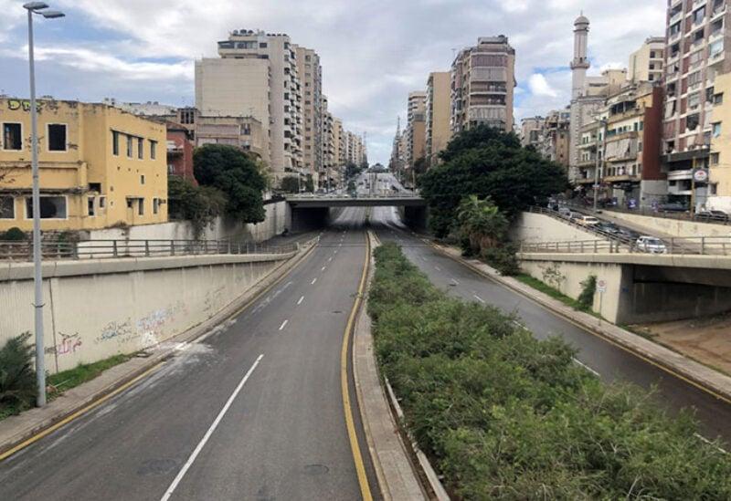 Lebanon imposes lockdown during holiday
