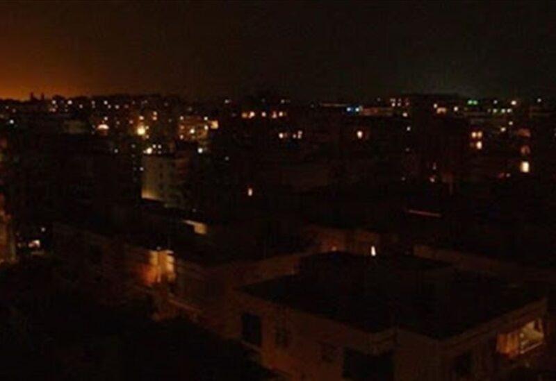 Lebanon in darkness