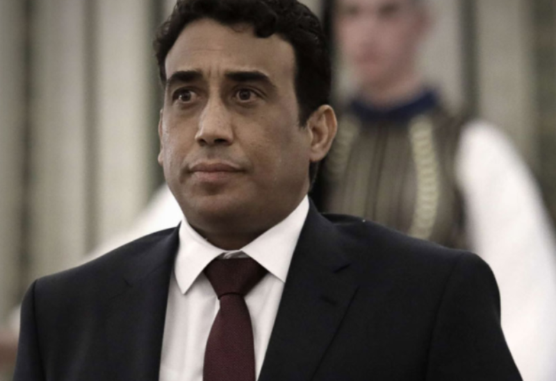 Libya's Head of Council Mohammed al-Menfi.