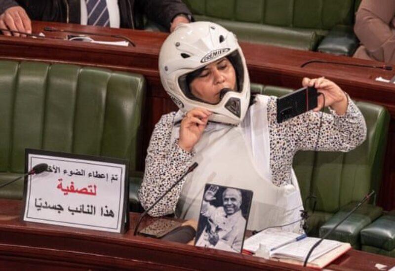 MP Abir Moussi