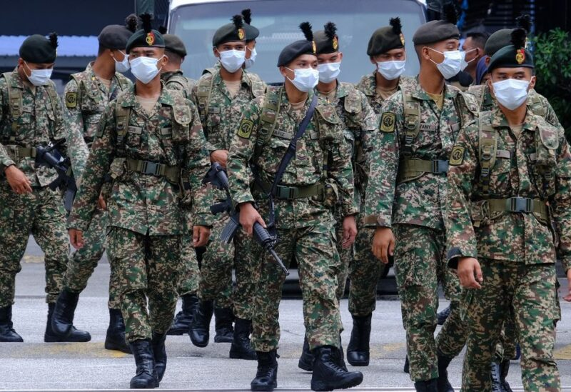 Malaysian security forces