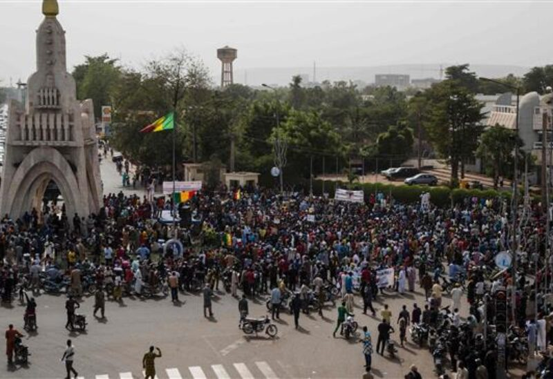 Mali, anti Frencch protest