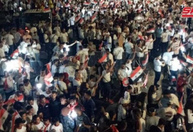 March of Amity , Syria