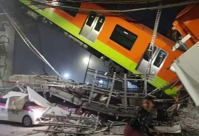 Metro Accident in Mexico