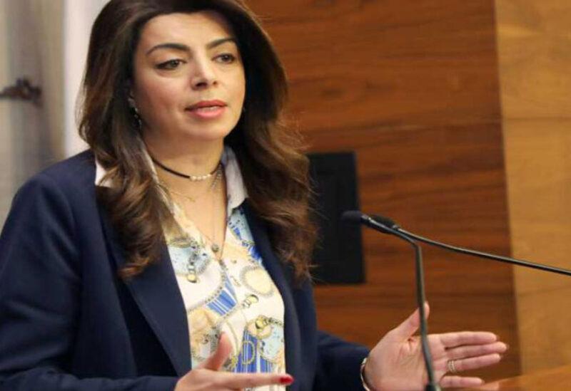 Minister of Displaced Ghada Shreim
