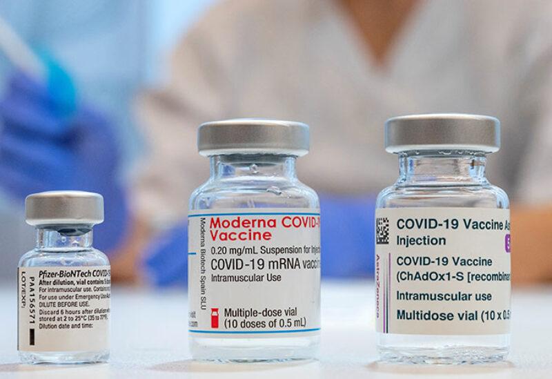 Moderna and AstraZeneca Vaccines