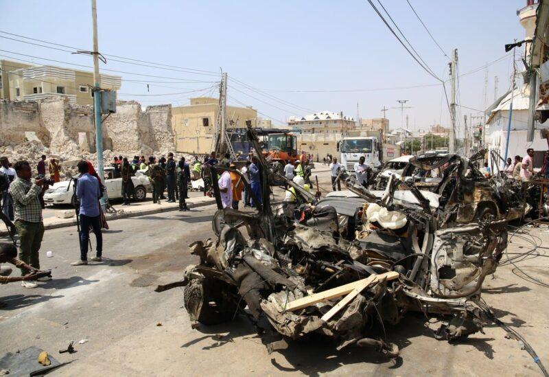 Mogadishu, car bomb blast Archive