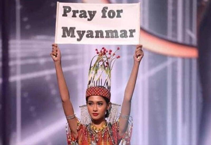 Myanmar's Miss Universe contestant, Thuzar Wint Lwin