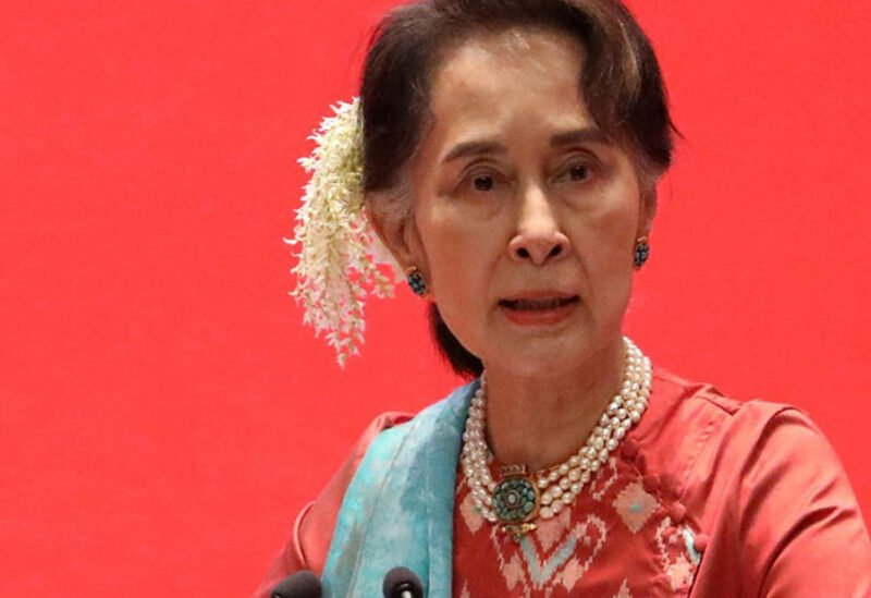 Myanmar's dethrone leader Aung San Suu Kyi