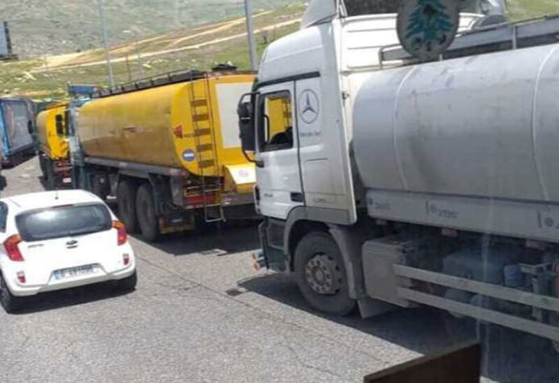 Oil smuggling from Lebanon to Syria