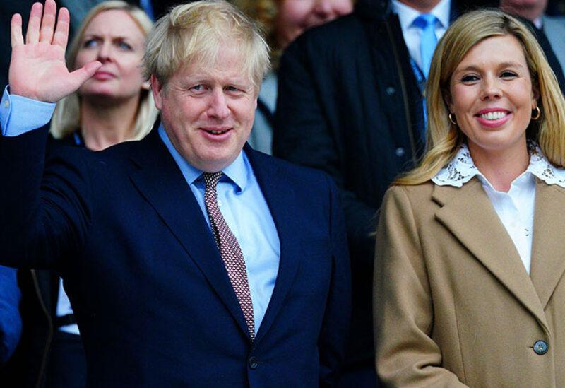 PM Boris Johnson and Carrie Symonds