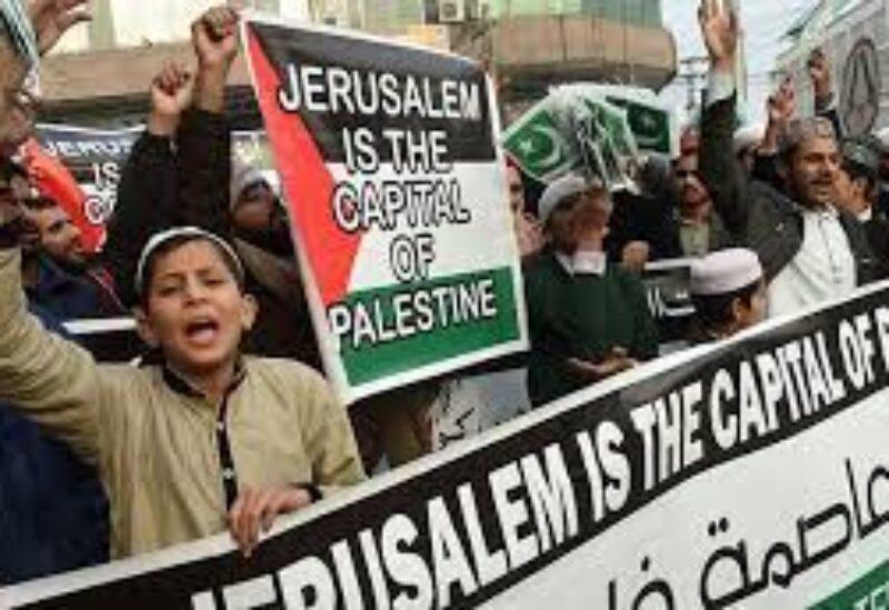 Pakistan anti Israeli protests