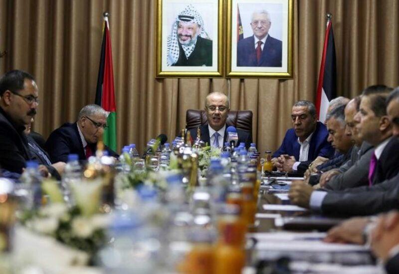 Palestinian delegation meeting