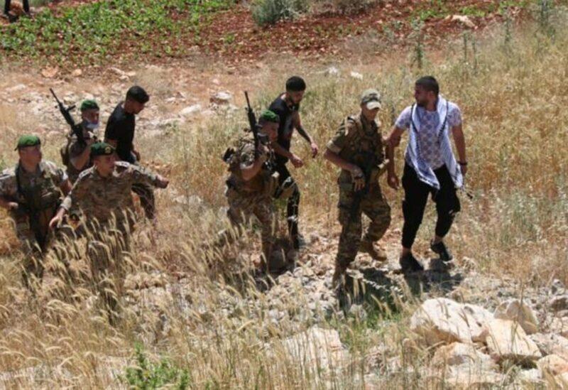 Palestinians arrested