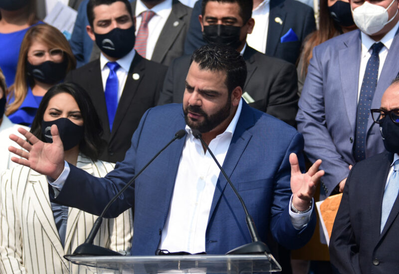 President of Nuevas Ideas ruling party, Xavi Zablah