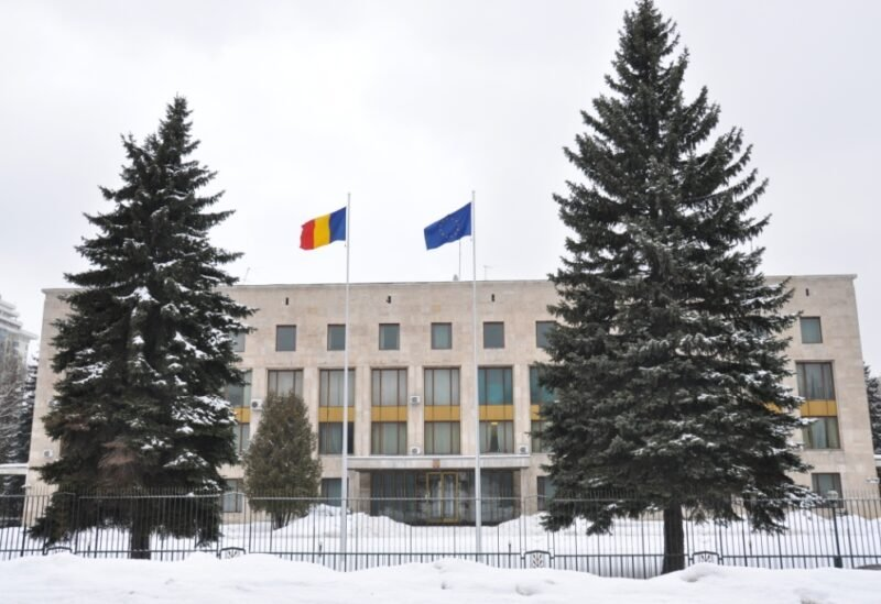 Romanian embassy , Moscow
