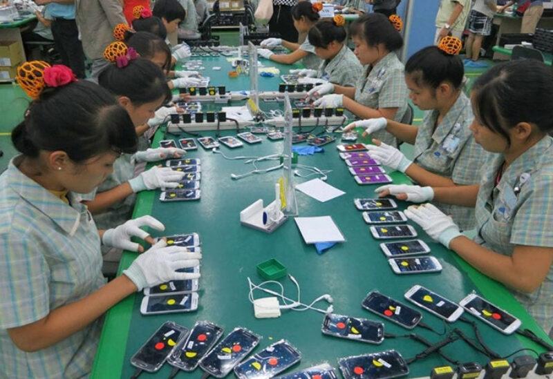Samsung facility in Vietnam