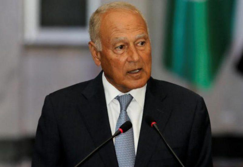 Secretary-General of Arab League Ahmad Aboul Gheit