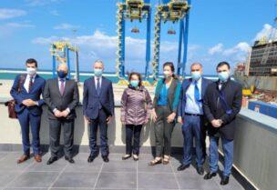 Shea at port of Tripoli