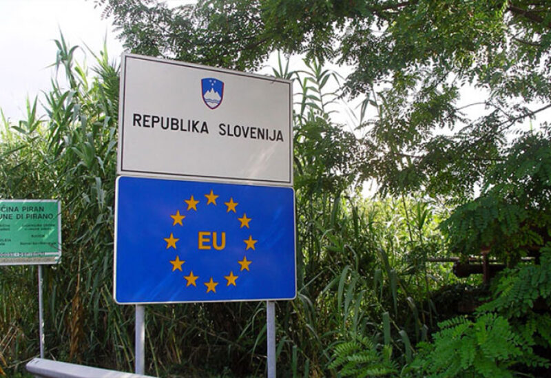 Slovenia borders with Croatia