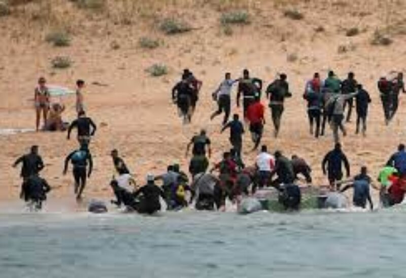 Spain, Morrocan migrants