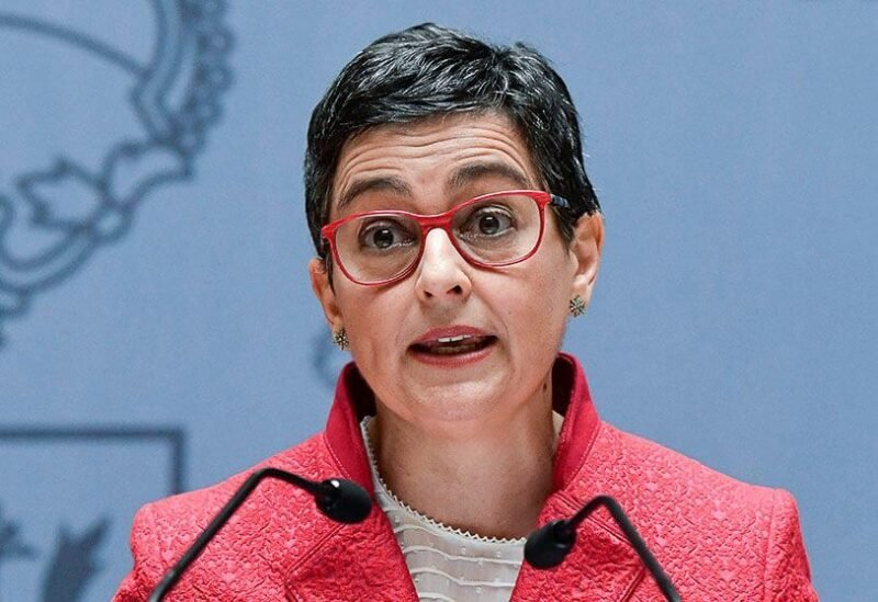 Spain's Minister of Foreign Affairs Arancha Gonzalez Laya