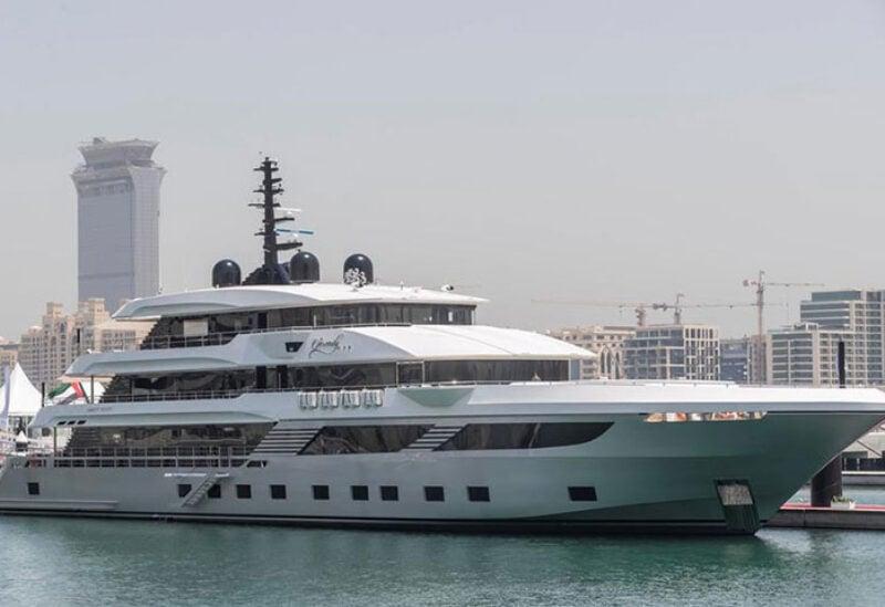 Superyacht revealed in Dubai
