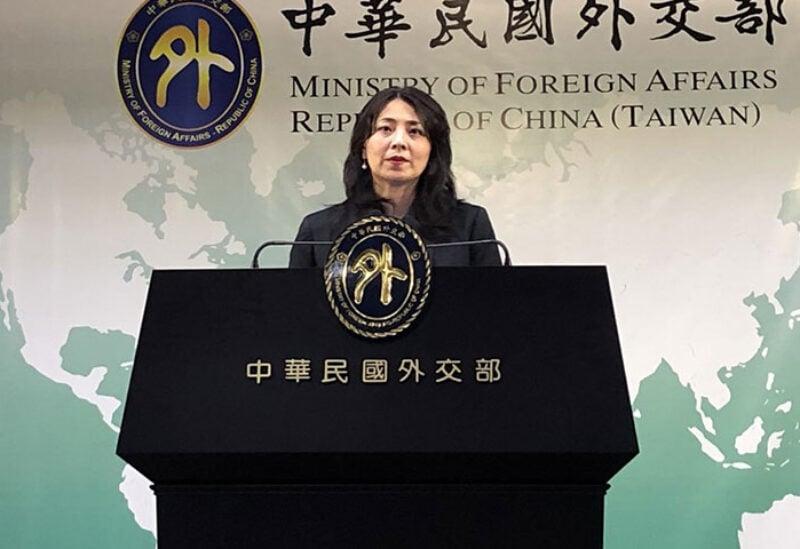 Taiwan Foreign Ministry Spokeswoman Joanne Ou