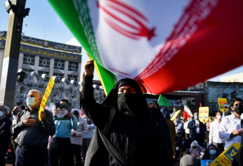 Tehran, pro Palestinian demonstration