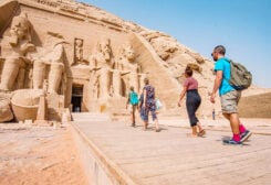 Tourism is a key pillar in Egypt's economy