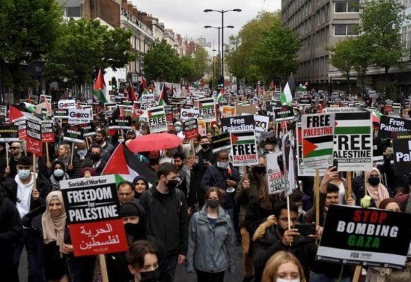 UK, Pro Palestinian protest