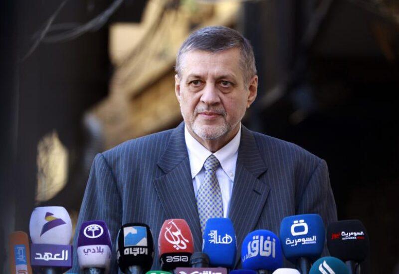 UN Secretary-General's Special Envoy for Libya Jan Kubis