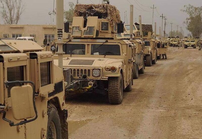 US military convoy in Iraq