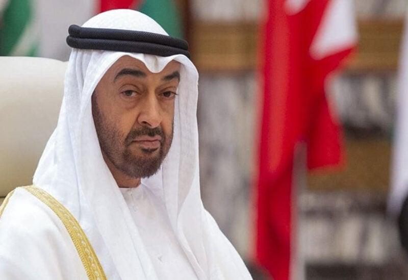 United Arab Emirates' Mohammed bin Zayed Al Nahyan