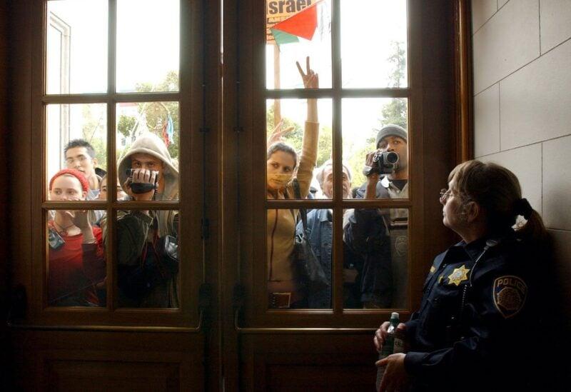University of California pro Palestinian demos