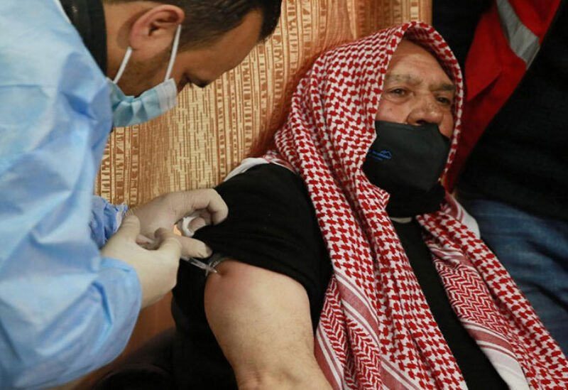 Vaccines provided for refugees in Jordan