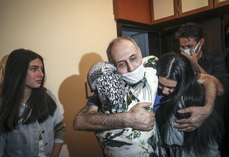 Vakkas Orhan reunited with his family