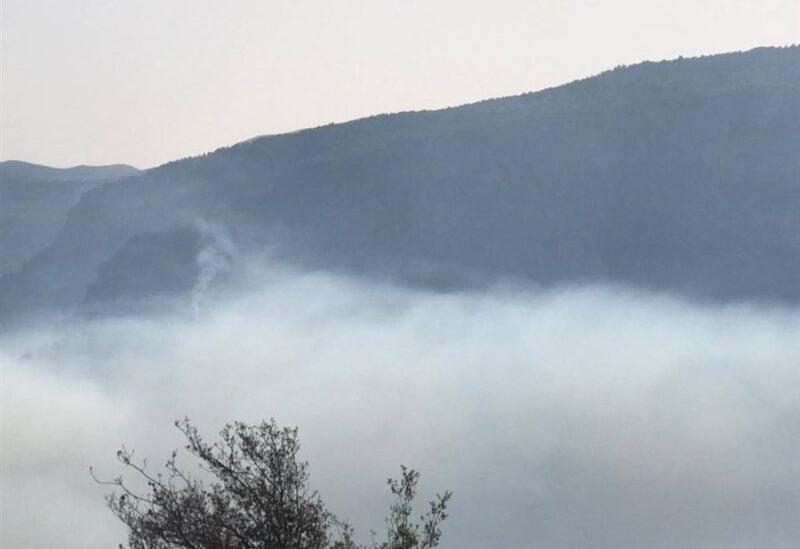 Wadi Jhannam fire