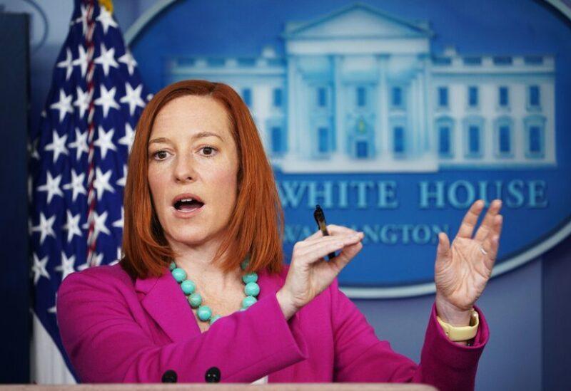 White House spokeswoman Jen Psaki