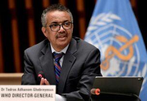 World Health Organization Director-General, Tedros Adhanom