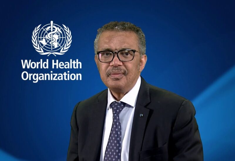 World Health Organization Director-General Tedros Adhanom Ghebreyesu