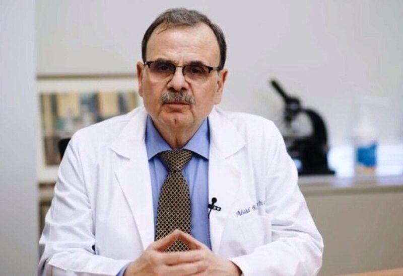 Dr Abdulrahman Bizri, chairman of the Lebanese national committee for COVID-19 vaccination