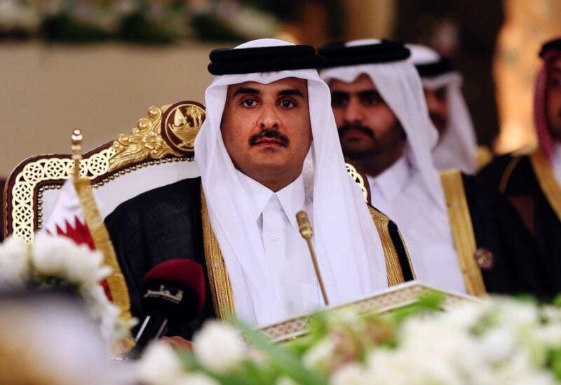The Emir of Qatar, Sheikh Tamim bin Hamad al-Thani,