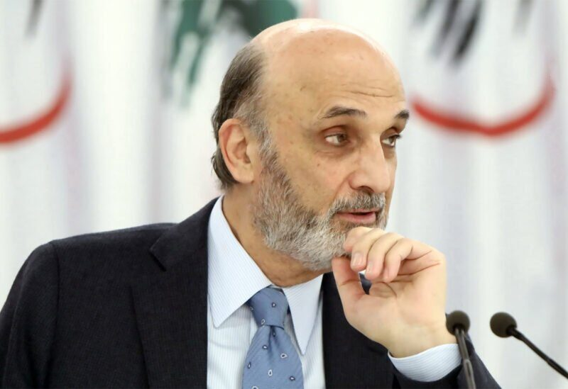 Samir Geagea, leader of the Lebanese Forces party