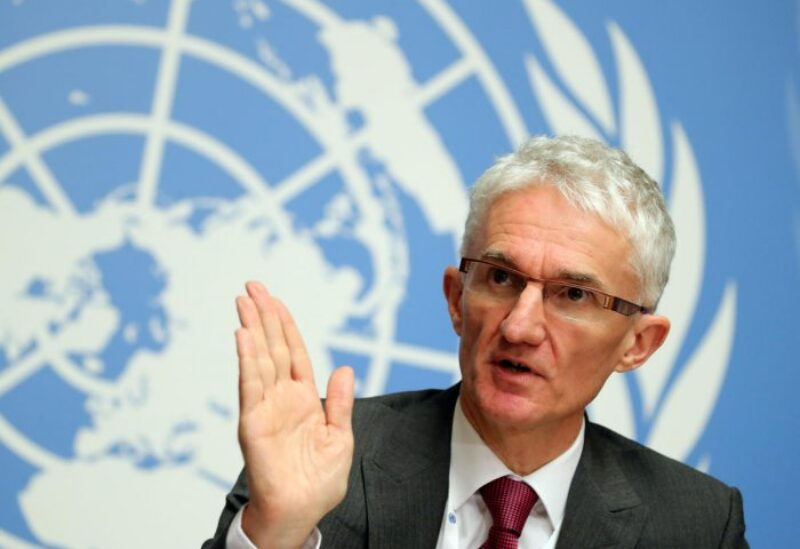 United Nations aid chief Mark Lowcock