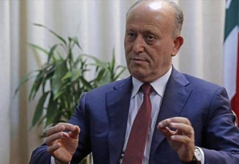 Former Lebanese Minister of Justice Ashraf Rifi